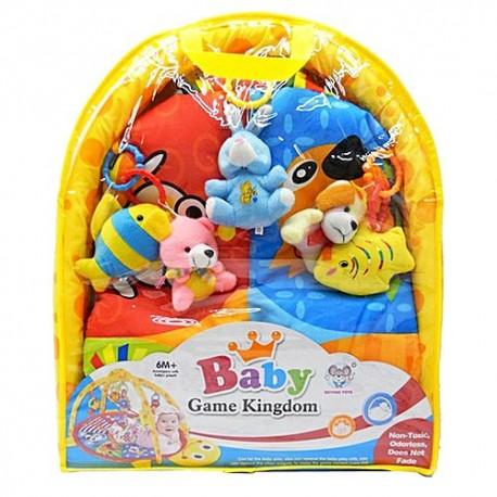 تشک بازی نوزاد baby kingdom |