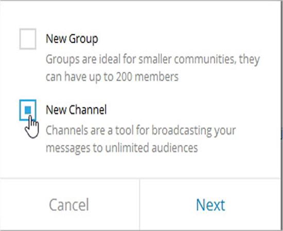 بالابردن اعضاء تلگرام