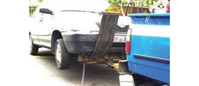 کلیپ انتقال خودروی بدون راننده به پارکینگ